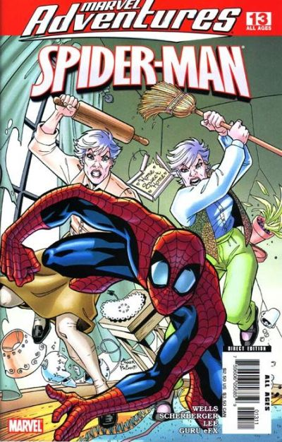 Cover for Marvel Adventures Spider-Man (Marvel, 2005 series) #13