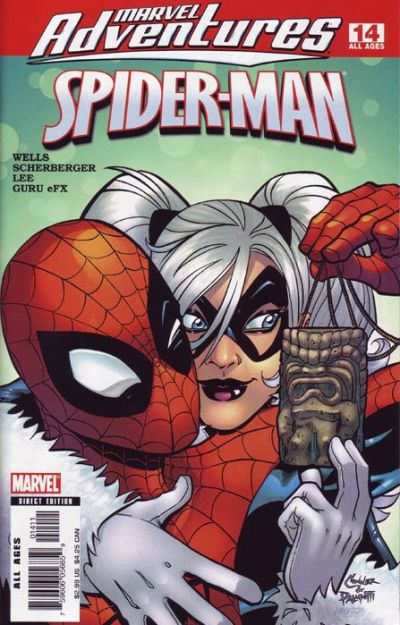 Cover for Marvel Adventures Spider-Man (Marvel, 2005 series) #14 [Newsstand Edition]