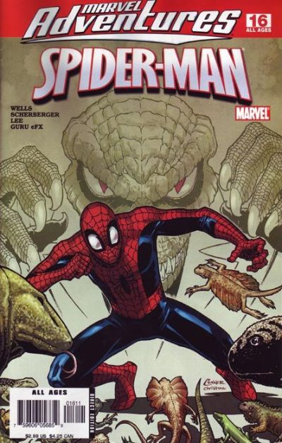 Cover for Marvel Adventures Spider-Man (Marvel, 2005 series) #16 [Direct Edition]