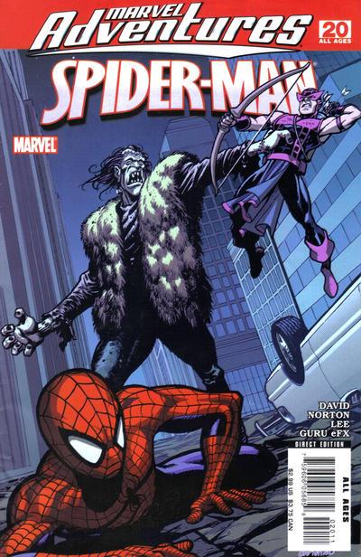 Cover for Marvel Adventures Spider-Man (Marvel, 2005 series) #20