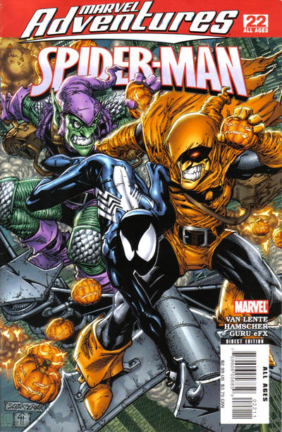 Cover for Marvel Adventures Spider-Man (Marvel, 2005 series) #22
