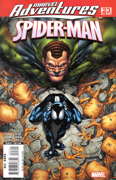 Cover for Marvel Adventures Spider-Man (Marvel, 2005 series) #23