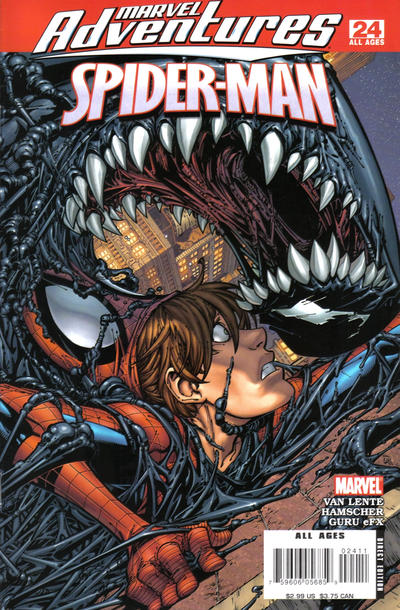 Cover for Marvel Adventures Spider-Man (Marvel, 2005 series) #24