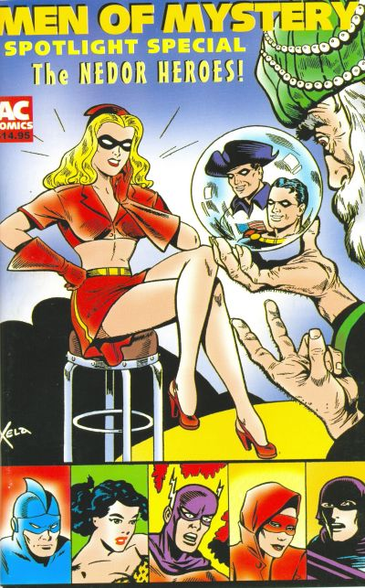 Cover for Men of Mystery Spotlight (AC, 2001 series) #1