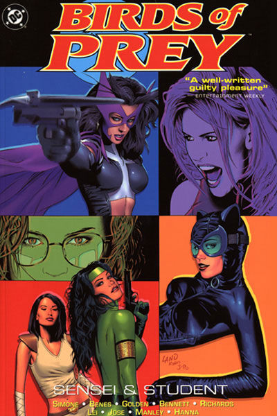 Cover for Birds of Prey: Sensei & Student (DC, 2005 series)