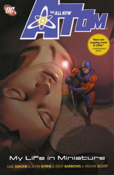 Cover for The All-New Atom: My Life in Miniature (DC, 2007 series)