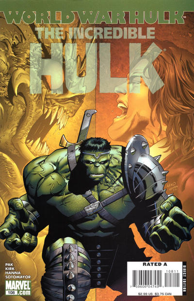 Cover for Incredible Hulk (Marvel, 2000 series) #108