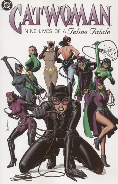 Cover for Catwoman: Nine Lives of the Feline Fatale (DC, 2004 series)