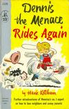 Cover for Dennis the Menace Rides Again (Pocket Books, 1956 series) #1125