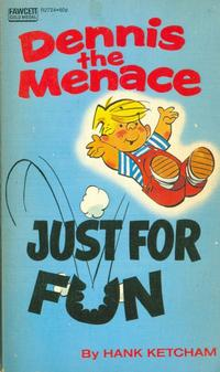 Cover Thumbnail for Dennis the Menace - Just for Fun (Gold Medal Books, 1973 series) #R2724