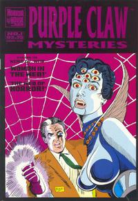 Cover Thumbnail for Purple Claw Mysteries (AC, 1994 series) #1