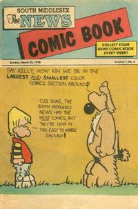 Cover Thumbnail for The South Middlesex News Comic Book (The Middlesex News, 1978 series) #v1#2