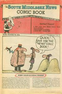 Cover Thumbnail for The South Middlesex News Comic Book (The Middlesex News, 1978 series) #v1#37