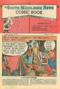 Cover Thumbnail for The South Middlesex News Comic Book (The Middlesex News, 1978 series) #v1#49