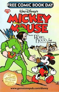 Cover Thumbnail for Walt Disney's Mickey Mouse - Free Comic Book Day (Gemstone, 2007 series)