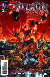 Cover Thumbnail for Thundercats: Dogs of War (DC, 2003 series) #2 [Brett Booth Cover Variant]