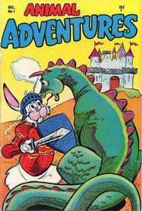 Cover Thumbnail for Animal Adventures (Timor, 1953 series) #1