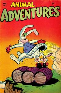 Cover Thumbnail for Animal Adventures (Timor, 1953 series) #3