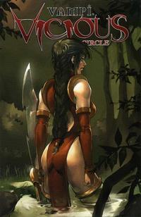 Cover Thumbnail for Vampi Vicious Circle Limited Ashcan (Anarchy Studios, 2004 series)