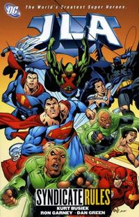 Cover Thumbnail for JLA (DC, 1997 series) #17 - Syndicate Rules