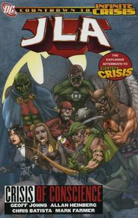 Cover Thumbnail for JLA (DC, 1997 series) #18 - Crisis of Conscience