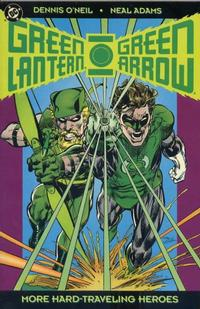 Cover Thumbnail for The Green Lantern / Green Arrow Collection, Volume Two: More Hard-Traveling Heroes (DC, 1993 series)