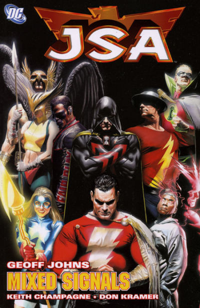 Cover for JSA (DC, 2000 series) #11 - Mixed Signals
