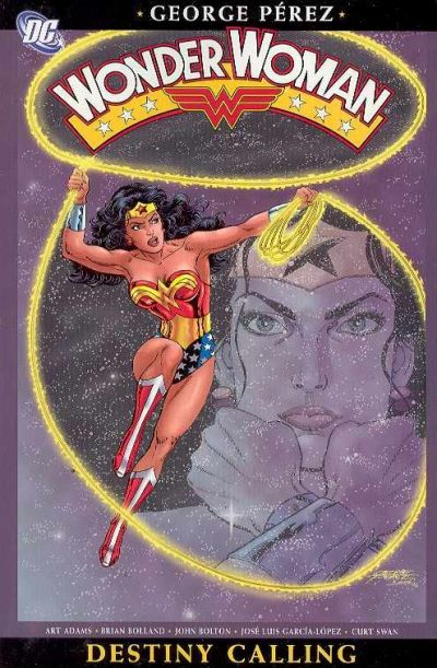 Cover for Wonder Woman (DC, 2004 series) #4 - Destiny Calling