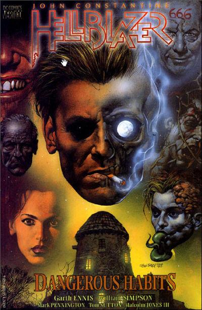 Cover for John Constantine, Hellblazer: Dangerous Habits (DC, 1994 series)
