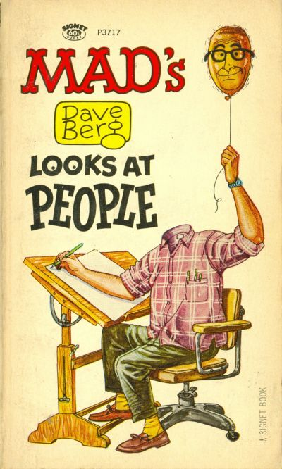Cover for Mad's Dave Berg Looks at People (New American Library, 1966 series) #P3717