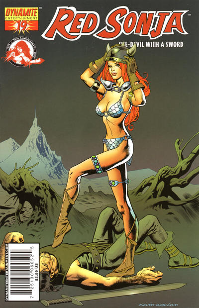 Cover for Red Sonja (Dynamite Entertainment, 2005 series) #19 [Adriano Batista Cover]