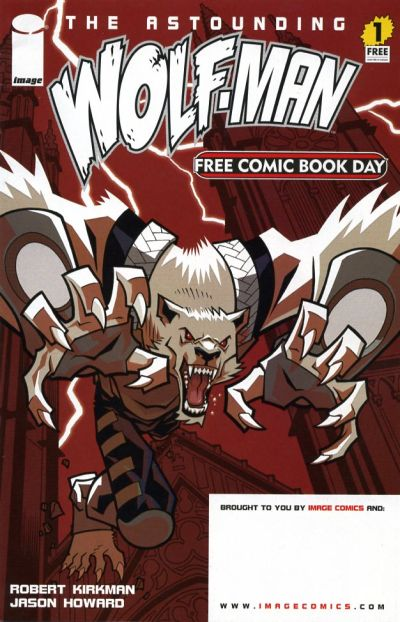 Cover for The Astounding Wolf-Man (Image, 2007 series) #1