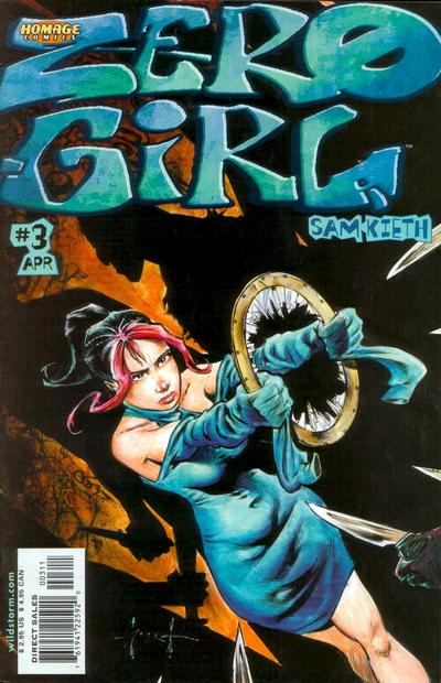 Cover for Zero Girl (DC, 2001 series) #3