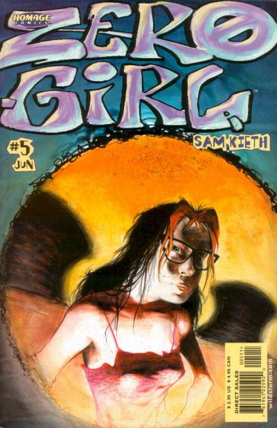 Cover for Zero Girl (DC, 2001 series) #5