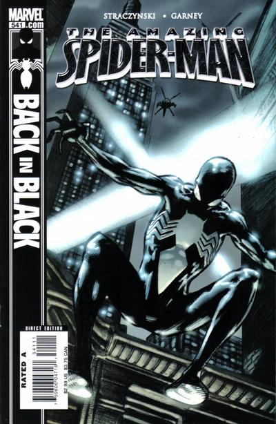 Cover for The Amazing Spider-Man (Marvel, 1999 series) #541 [Direct Edition]