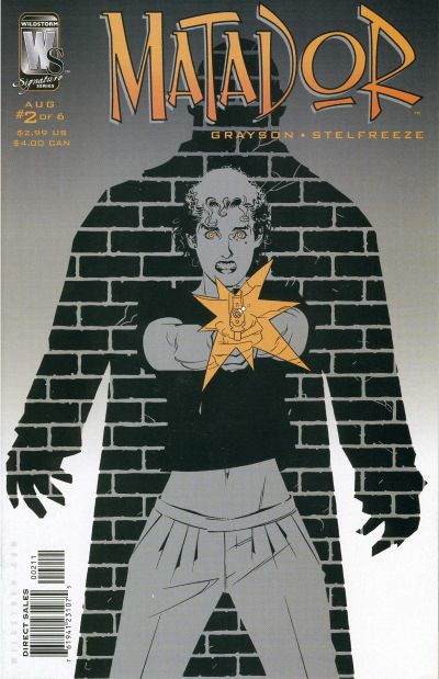Cover for Matador (DC, 2005 series) #2