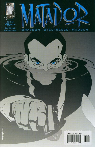 Cover for Matador (DC, 2005 series) #5