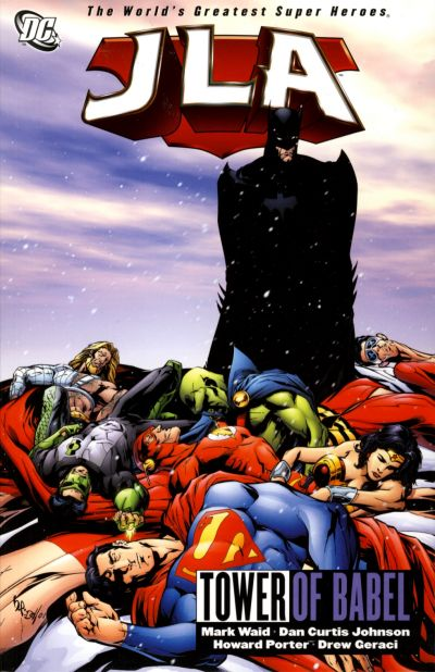 Cover for JLA (DC, 1997 series) #7 - Tower of Babel