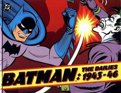Cover for Batman: The Dailies, 1943-46 (Kitchen Sink Press; DC, 1991 series)
