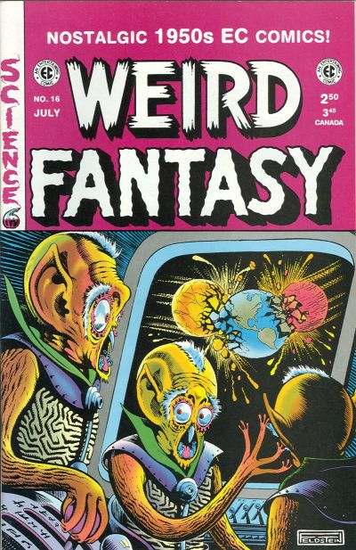 Cover for Weird Fantasy (Gemstone, 1994 series) #16