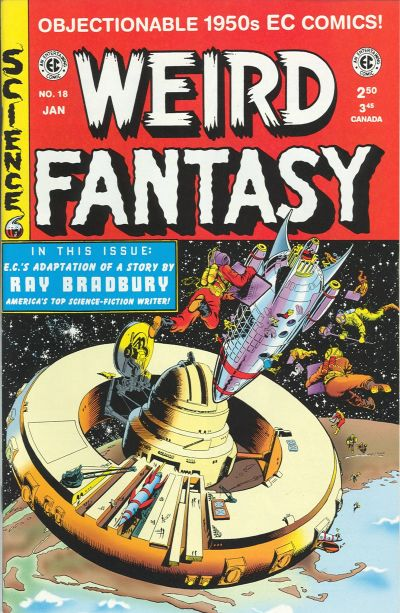 Cover for Weird Fantasy (Gemstone, 1994 series) #18