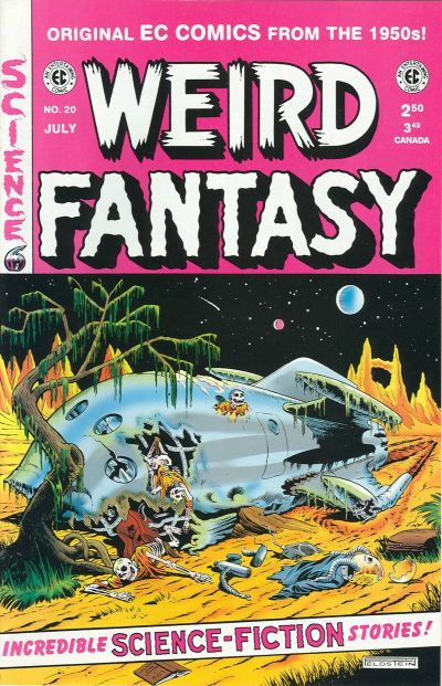 Cover for Weird Fantasy (Gemstone, 1994 series) #20
