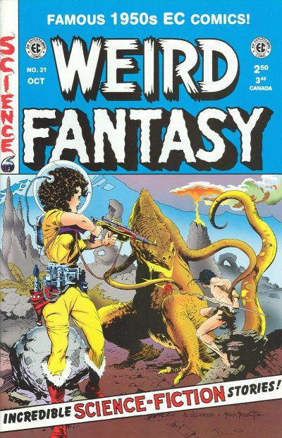 Cover for Weird Fantasy (Gemstone, 1994 series) #21