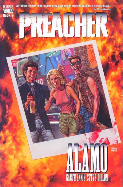 Cover for Preacher (DC, 1996 series) #9 - Alamo [Fifith Printing]