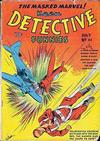 Cover for Keen Detective Funnies (Centaur, 1938 series) #22