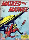 Cover for Masked Marvel (Centaur, 1940 series) #1