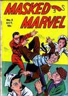 Cover for Masked Marvel (Centaur, 1940 series) #2