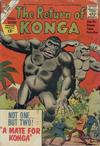 Cover for The Return of Konga (Charlton, 1962 series)