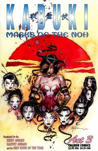 Cover Thumbnail for Kabuki: Masks of the Noh (Caliber Press, 1996 series) #3