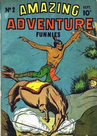 Cover Thumbnail for Amazing Adventure Funnies (Centaur, 1940 series) #2